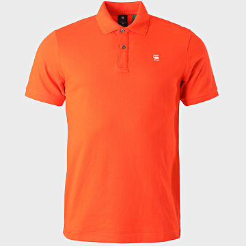 G-Star - Polo Manches Courtes Dunda Slim D11595-5864 Rouge