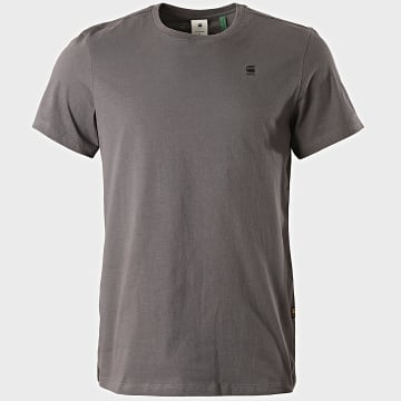 G-Star - Tee Shirt Base-S D16411-336 Gris Anthracite