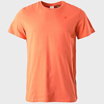 G-Star - Tee Shirt Base-S D16411-336 Orange