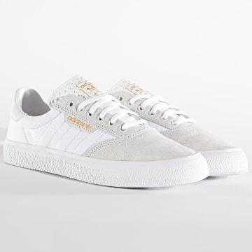 Adidas Originals - Baskets 3MC EG2763 Crystal White Cloud White Gold Metallic