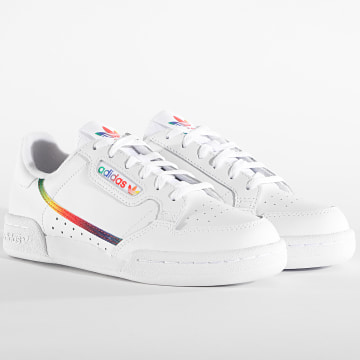 Adidas Originals - Baskets Femme Continental 80 EG8976 Footwear White Footwear White Core Black