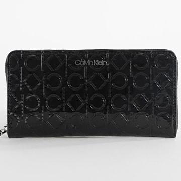 Calvin Klein - Portefeuille Femme Must EM Ziparound 6798 Noir