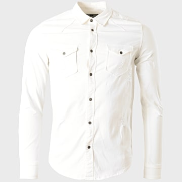 Classic Series - Chemise Manches Longues DC-2455 Blanc