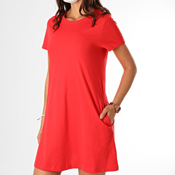 Only - Robe Femme May Life 15202971 Rouge