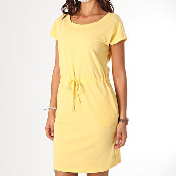 Vero Moda - Robe Courte Femme April 10213298 Jaune