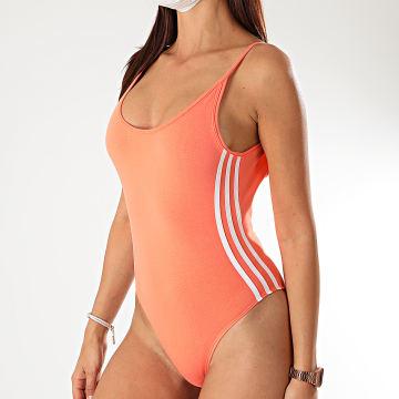 Adidas Originals - Body Femme A Bandes FM2578 Corail