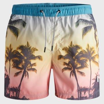 Jack And Jones - Short De Bain Aruba 12169638 Sunset