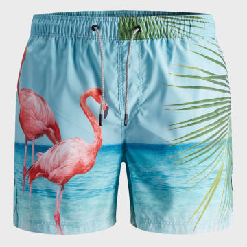 Jack And Jones - Short De Bain Aruba 12169638 Bleu Clair
