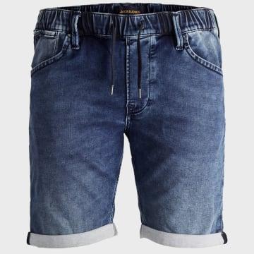 Jack And Jones - Short Jean Rick Dash 12169338 Bleu Denim
