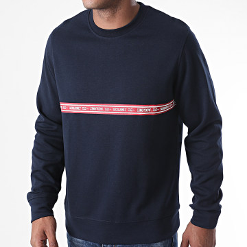 Jack And Jones - Sweat Crewneck Toffee 12165706 Bleu Marine