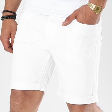 Produkt - Short Jean AKM W-200 Blanc