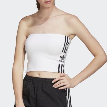 Adidas Originals - Top Femme Tube FM2608 Blanc