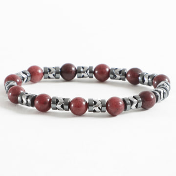 Black Needle - Bracelet BBN-105 Gris Rouge