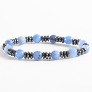 Black Needle - Bracelet BBN-114 Bleu