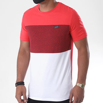 Jack And Jones - Tee Shirt Chase 12171348 Rouge