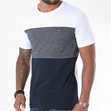 Jack And Jones - Tee Shirt Chase 12171348 Blanc