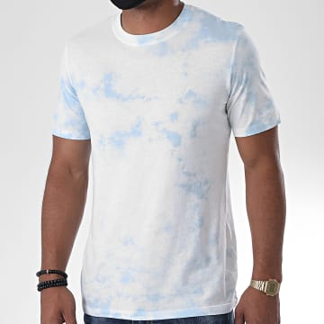 Jack And Jones - Tee Shirt Menace 12171744 Bleu Clair