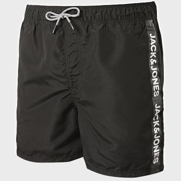 Jack And Jones - Short De Bain A Bandes Aruba Noir