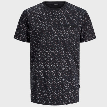 Jack And Jones - Tee Shirt Poche Blackpool 12170950 Noir