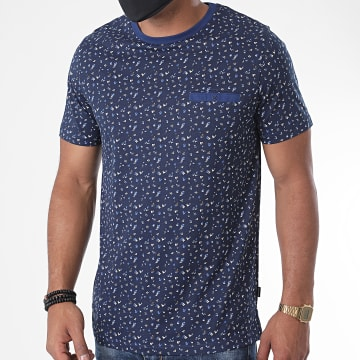 Jack And Jones - Tee Shirt Poche Blackpool 12170950 Bleu Marine