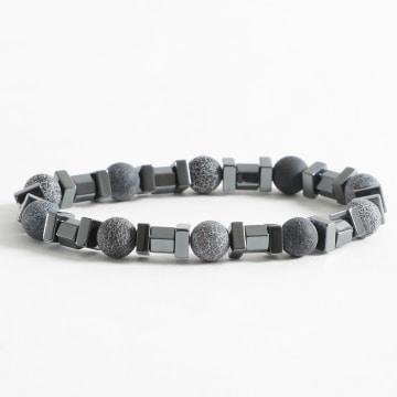 Black Needle - Bracelet BBN-127 Gris