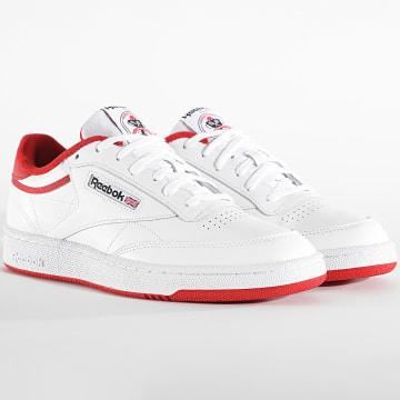 Reebok - Baskets Club C 85 FX4764 White Legacy Red Black