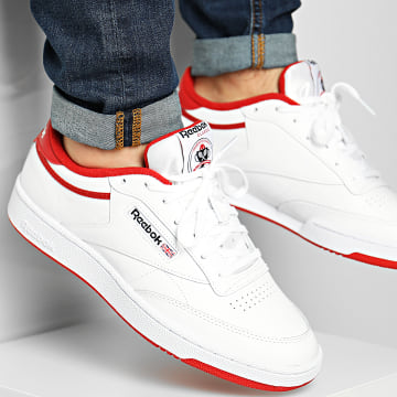 Reebok - Baskets Club C 85 FX4764 White Legacy Red Black