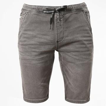 Tom Tailor - Short Jean 1017201-XX-12 Gris