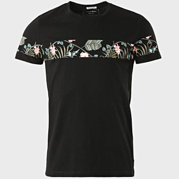 Tom Tailor - Tee Shirt Floral 1018564-XX-12 Noir