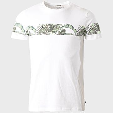 Tom Tailor - Tee Shirt Floral 1018564-XX-12 Blanc