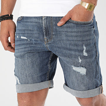Tom Tailor - Short Jean 1017203-XX-12 Bleu Denim
