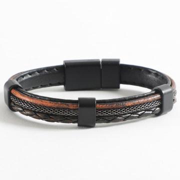 Black Needle - Bracelet BBN-173 Noir Marron