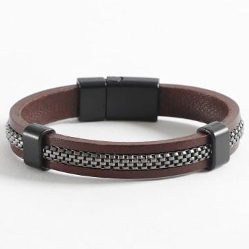 Black Needle - Bracelet BBN-176 Marron