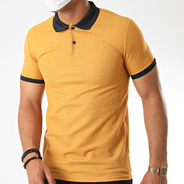 Classic Series - Polo Manches Courtes 2109 Jaune Moutarde