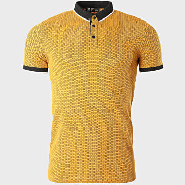 Classic Series - Polo Manches Courtes 2112 Jaune Moutarde