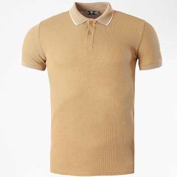 Classic Series - Polo Manches Courtes 2199 Camel Clair