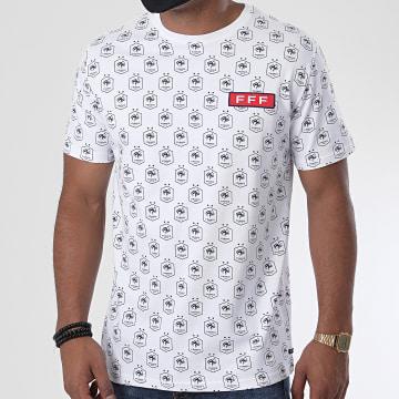 FFF - Tee Shirt All Over F19070C Blanc