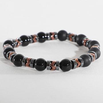 Black Needle - Bracelet BBN-133 Noir Gris