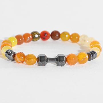 Black Needle - Bracelet BBN-139 Orange