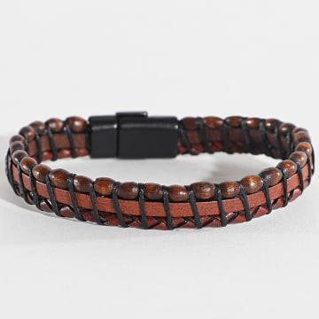 Black Needle - Bracelet BBN-162 Marron