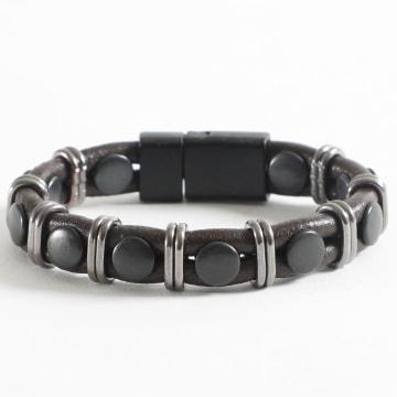 Black Needle - Bracelet BBN-166 Marron