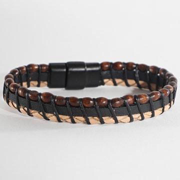 Black Needle - Bracelet BBN-167 Marron Beige