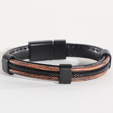 Black Needle - Bracelet BBN-172 Marron