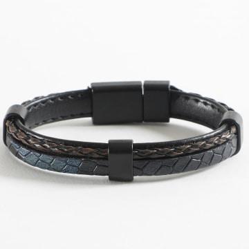 Black Needle - Bracelet BBN-180 Bleu Marine