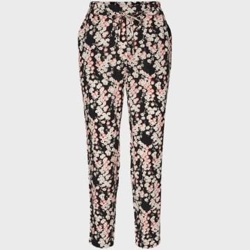 Vero Moda - Pantalon Femme Simply Easy 10227814 Floral Noir