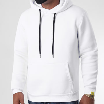 LBO - Sweat Capuche For The Planet 1181 Blanc