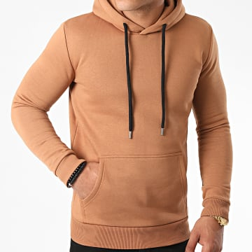 LBO - Sweat Capuche 968 Camel