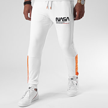 Final Club - Pantalon Jogging Space Exploration 360 Blanc