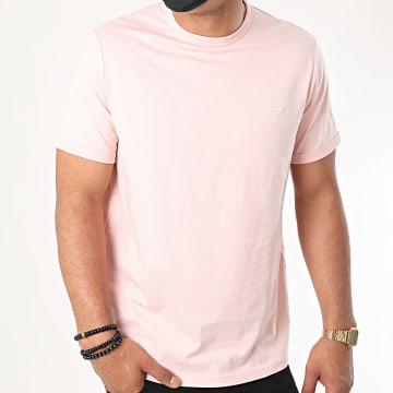 Fred Perry - Tee Shirt Ringer M3519 Rose