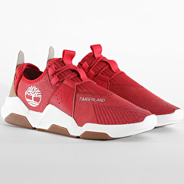 Timberland - Baskets Earth Rally Oxford A2BNR Medium Red
